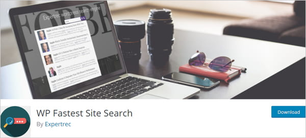 WP Fastest Site Search WordPress plugin.