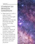 Starsight Short Notes