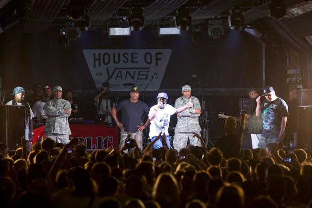 Public Enemy - House of Vans Launch Night by Sam Mellish