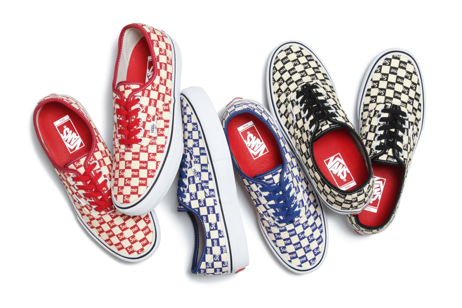 HYPEBAE This checkered Vans Old Skool is the cherry on