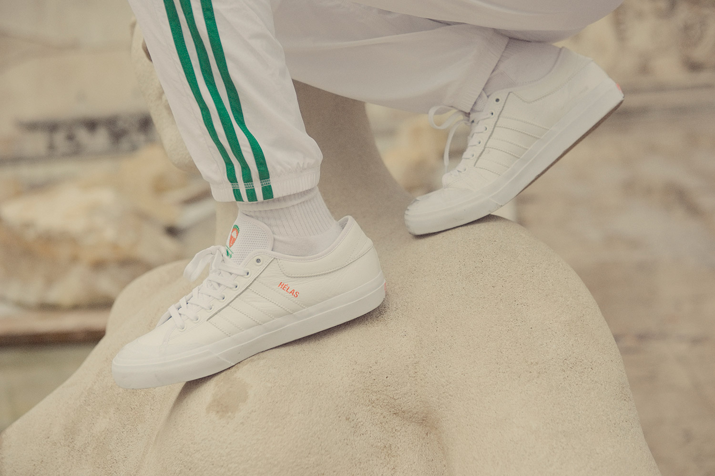 adidas Skateboarding x Hélas Matchcourt | Weiss