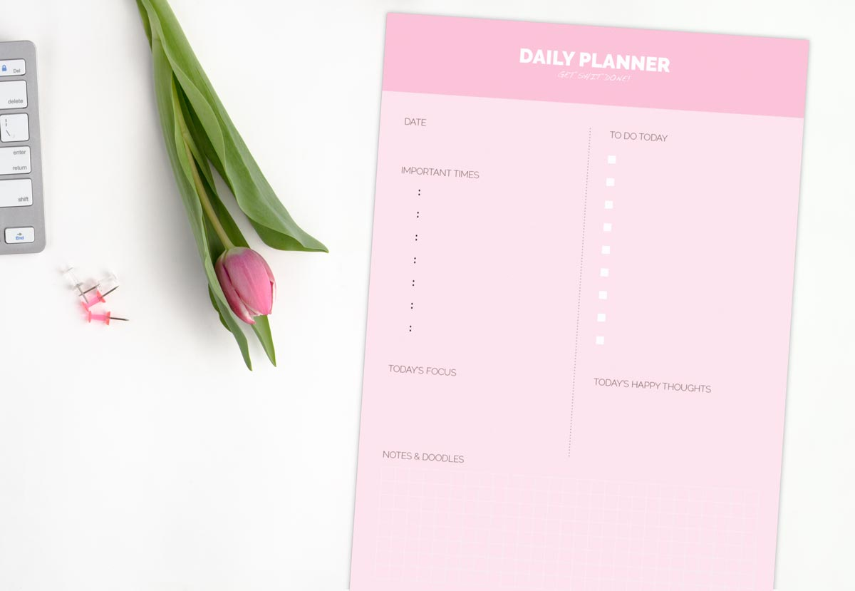 Se Daily Planner fra byTHERS