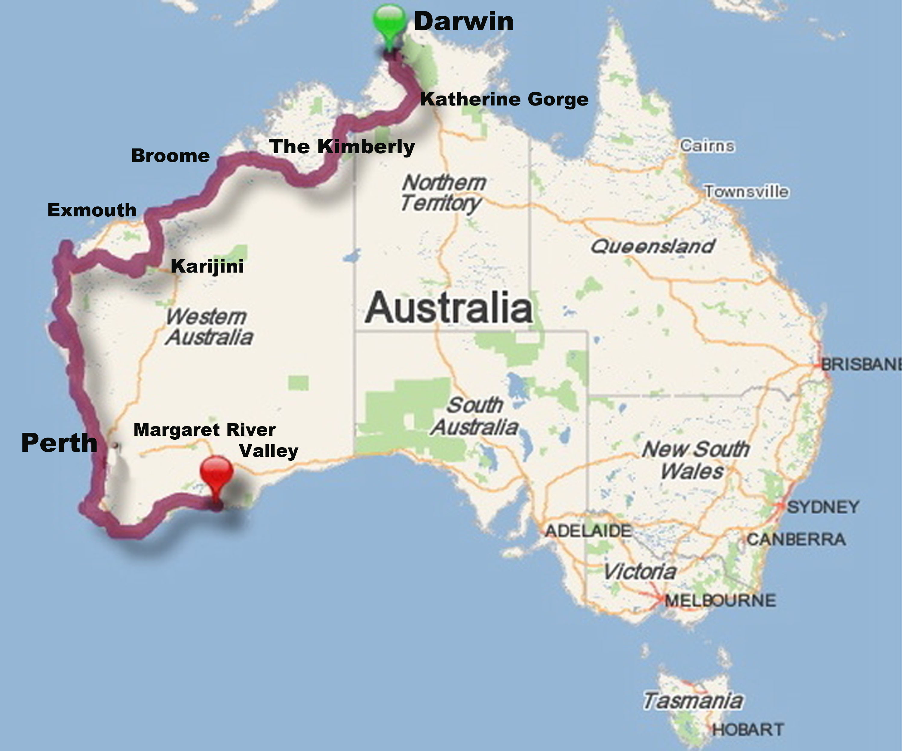 And We Re Off Let The Aussie Road Trip Begin