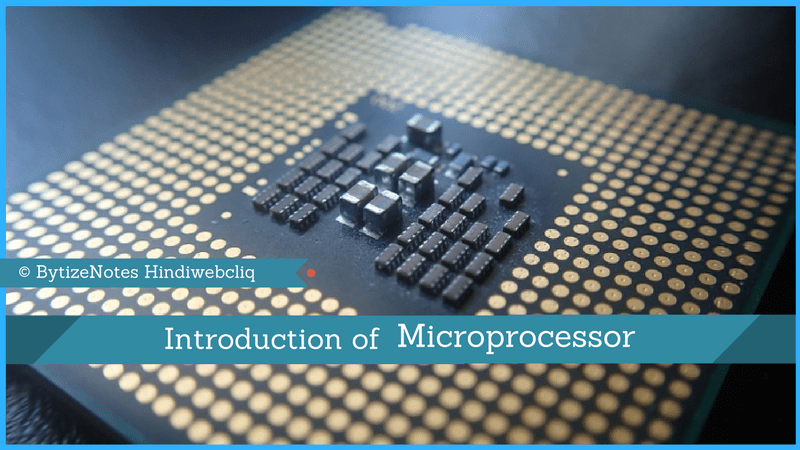 introduction of microprocessor hindi
