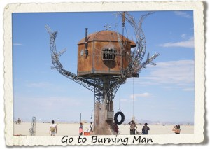 bucket list: go to burning man