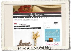 bucket list: have a succesful blog