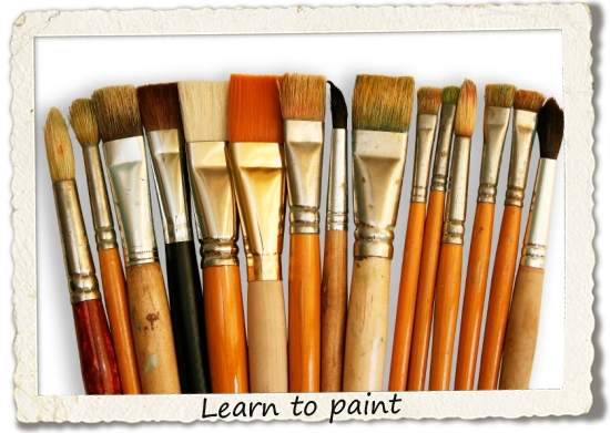 bucket list: learn to paint