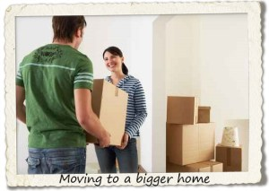 bucket list: moving to a bigger home