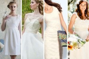short wedding dresses top 10