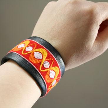 leather bracelet diy small