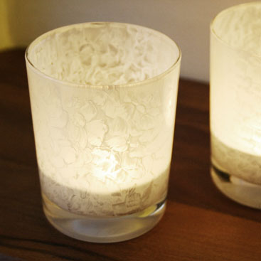 Diy Painted Glass Candle Holders By Wilma