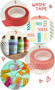 Love this - Washi tape
