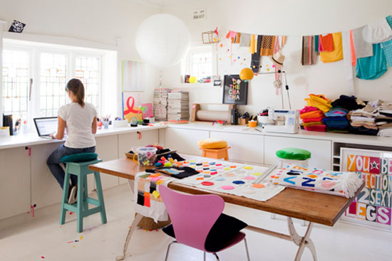 craft room inspiration color
