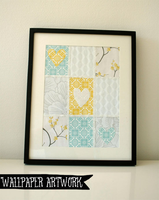 DIY Wallpaper Sample Artwork
