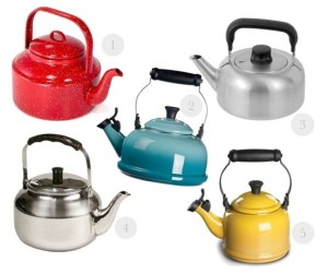 Love this - vintage inspired kettles