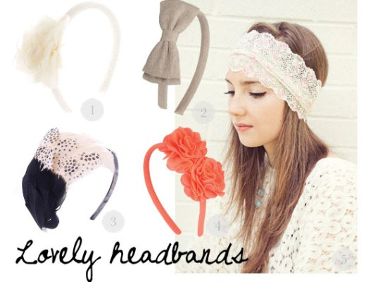 love this - lovely headbands