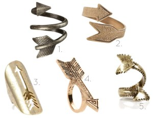 Love this - Arrow rings