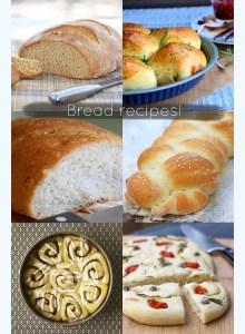 Love this - Bread recipes!