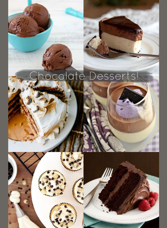 Love this - Chocolate desserts