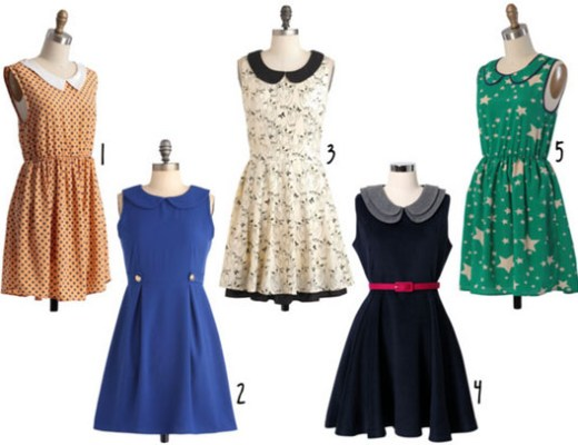 Love this - Peter Pan collar dresses