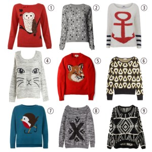 Love this - Sweaters (a winter survival essential)