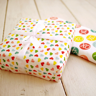 last minute Valentines Day wrapping paper
