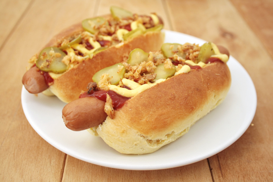 Great recipe for hot dog buns