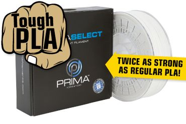 PrimaSelect PLA Tough 1 75mm 750 g weiss PS PLAT 175 0750 WH 25832 2 59 PrimaSelect PLA Tough - 1,75 mm - 750 g - Alb
