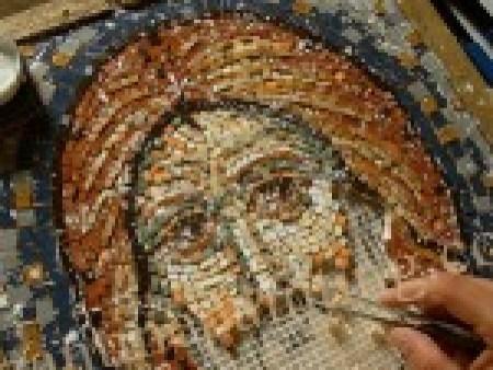 mozaic icoana bizantina