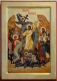 Icoana pictata - Invierea Domnului .Easter, or Pascha