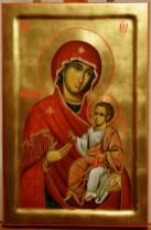 Panagia Portaitissa painted icon