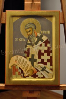 Saint. Cyprian, byzantine icons for sale