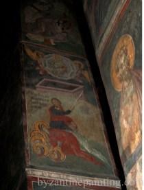 Mural painting Gracanica monastery (8)