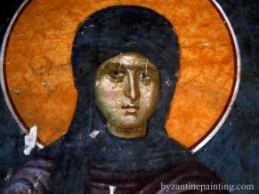 Pictura murala Manastirea Gracanica Serbia (1)