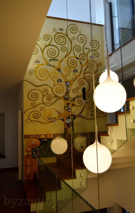 Pictura decorativa pe pereti (1)