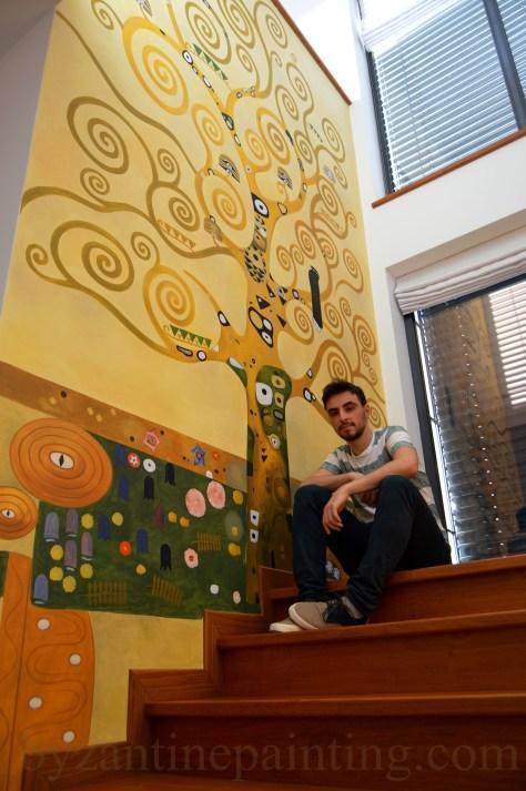 Pictura decorativa pe pereti (6)