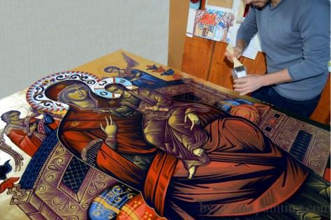 Icoana Maica Domnului Pantanassa 1
