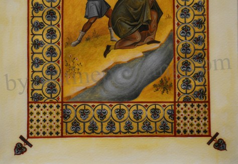 Miniature Saint Anthim the Iberian (4)
