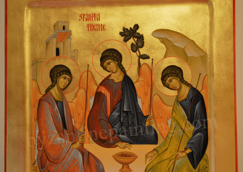 The Holy Trinity, byzantine icons (1)