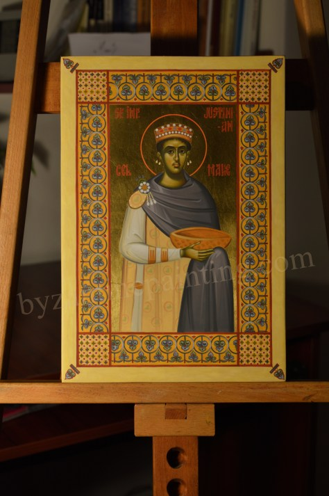 icon The holy and right-believing Emperor Justinian the Great