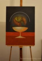 St. John the Baptist contemporary iconography. Liviu Dumitrescu