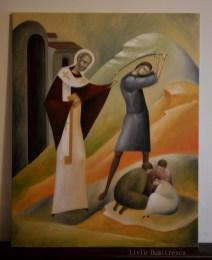 Saint Nicholas saves three innocents from death