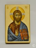 Iisus Hristos - icoana pictata pe lemn
