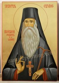 Saint Irodion of Lainici Monastery,Romania .byzantine icon