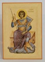 Saint George -painted byzantine icon