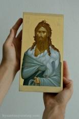 St. John the Baptist- Byzantine icon