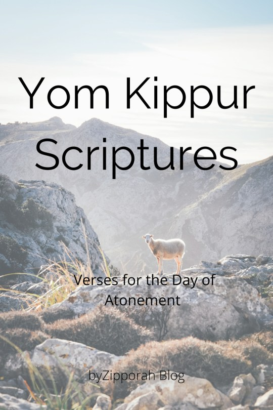 Scriptures for Yom Kippur