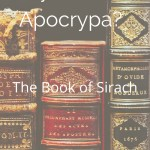 The Wisdom of Sirach - By Zipporah Blog