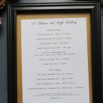 Hebrew and High Holidays printable in a picture frame.