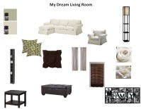 Dream Living Room | A Crazy Lil Thing Called Home